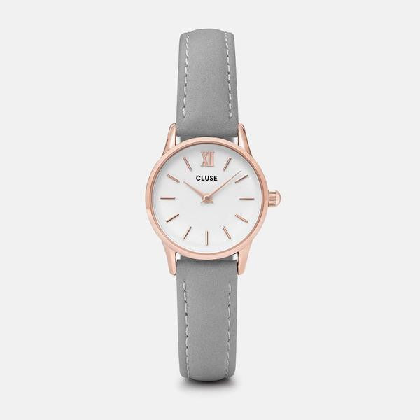 Cluse Watch - La Vedette - Rose Gold White/Grey