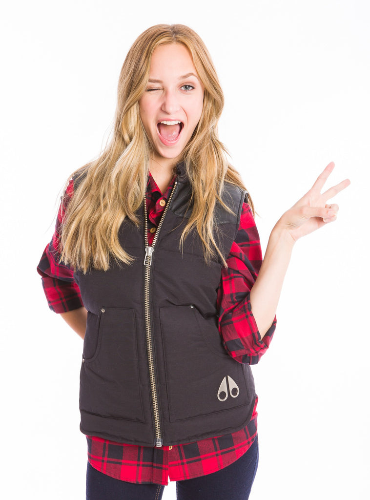 Moose Knuckles - 'Down Vest' Gilet (Black)