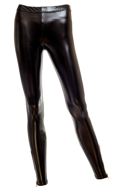 Lola Glossy Faux Leather Leggings