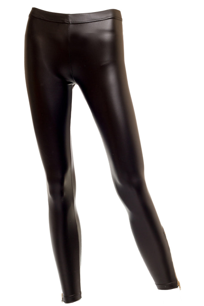 Lola Matte Faux Leather Leggings