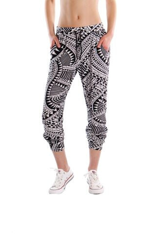 Sammy Brushed Soft Jersey Print Joggers