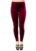 Rosa - Berry Velvet Leggings