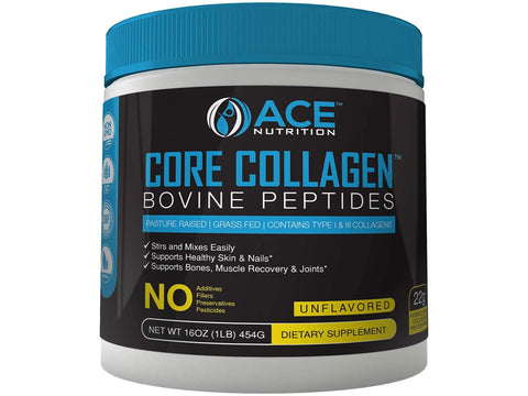 Core Collagen Powder Bovine Peptides (16oz)