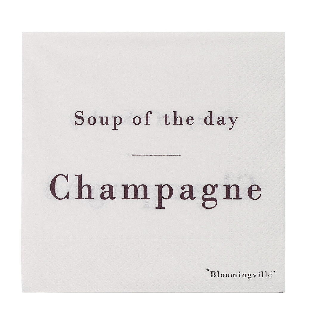 Soup of the day: Champagne