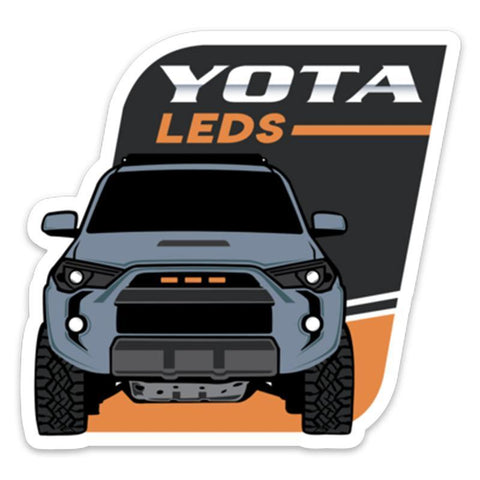 Yota Leds Logo Sticker
