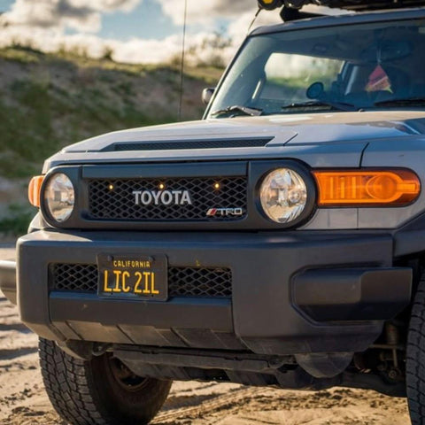 FJ Cruiser LED Grille Lights and Wiring Harness