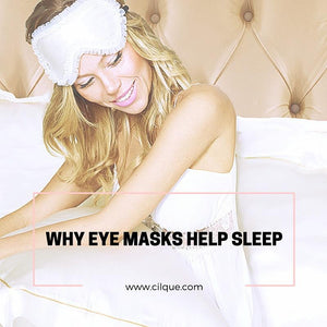 How Silk Eye Masks Help Amplify Your Sleep