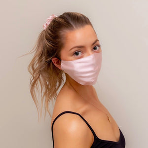 Plush Silk Face Mask