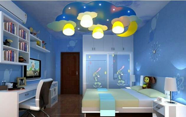 Learning lights for children's rooms need to be safe and environmental friendly