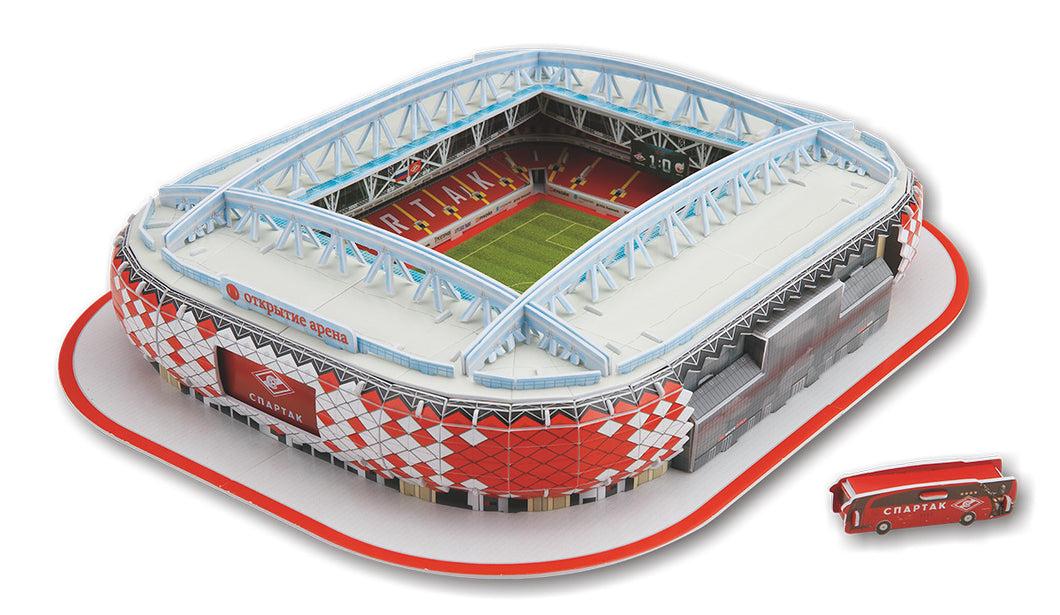 3D puzzle football field