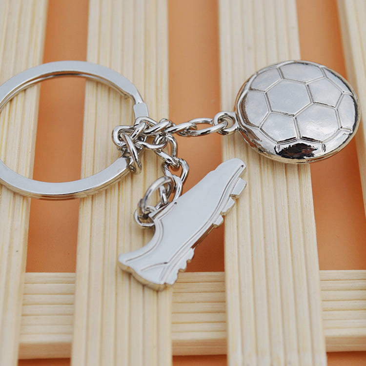 Football Shoe Keychain
