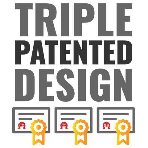 OmegaStrap has been awarded 3 patents by the USPTO.