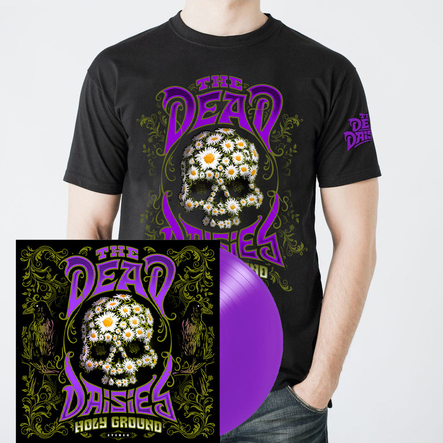 THE DEAD DAISIES Holy Ground Vinyl & T-Shirt Bundle