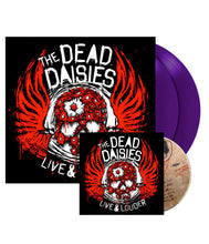 Load image into Gallery viewer, THE DEAD DAISIES Live & Louder 2 LP & CD Gatefold