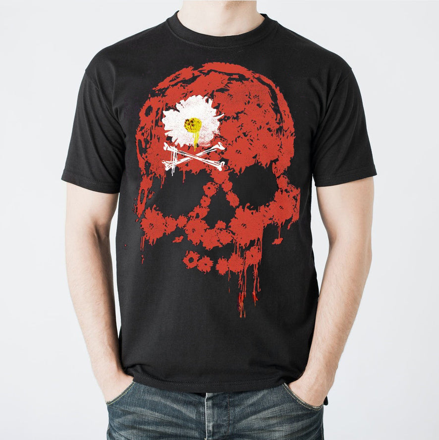 THE DEAD DAISIES Red Skull T-Shirt