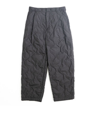 【stein】QUILTED ONE TUCK TROUSERS