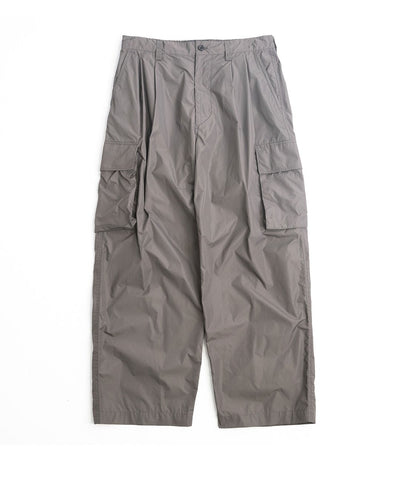 【stein】NYLON MILITARY WIDE TROUSERS
