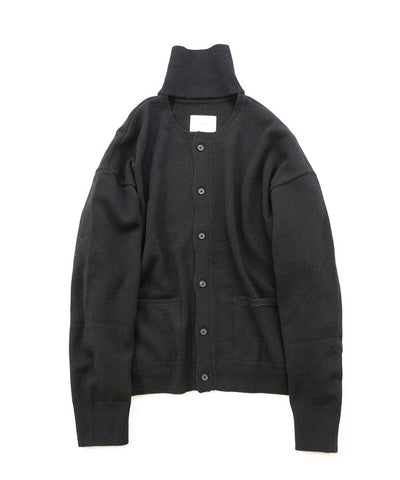 【stein】CASHMERE 'WITH A NECK' CARDIGAN