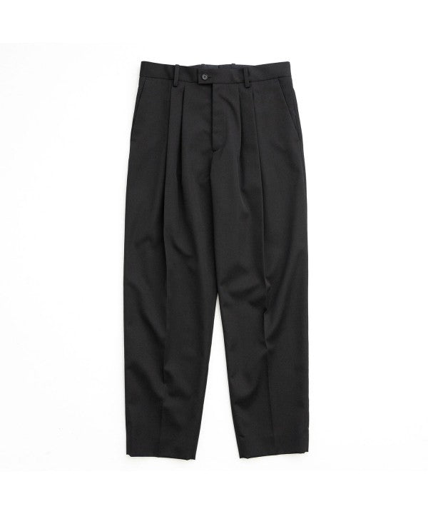 stein シュタイン WIDE TAPERED TROUSERS ST.217_1 BLACK session 通販 21SS 21AW