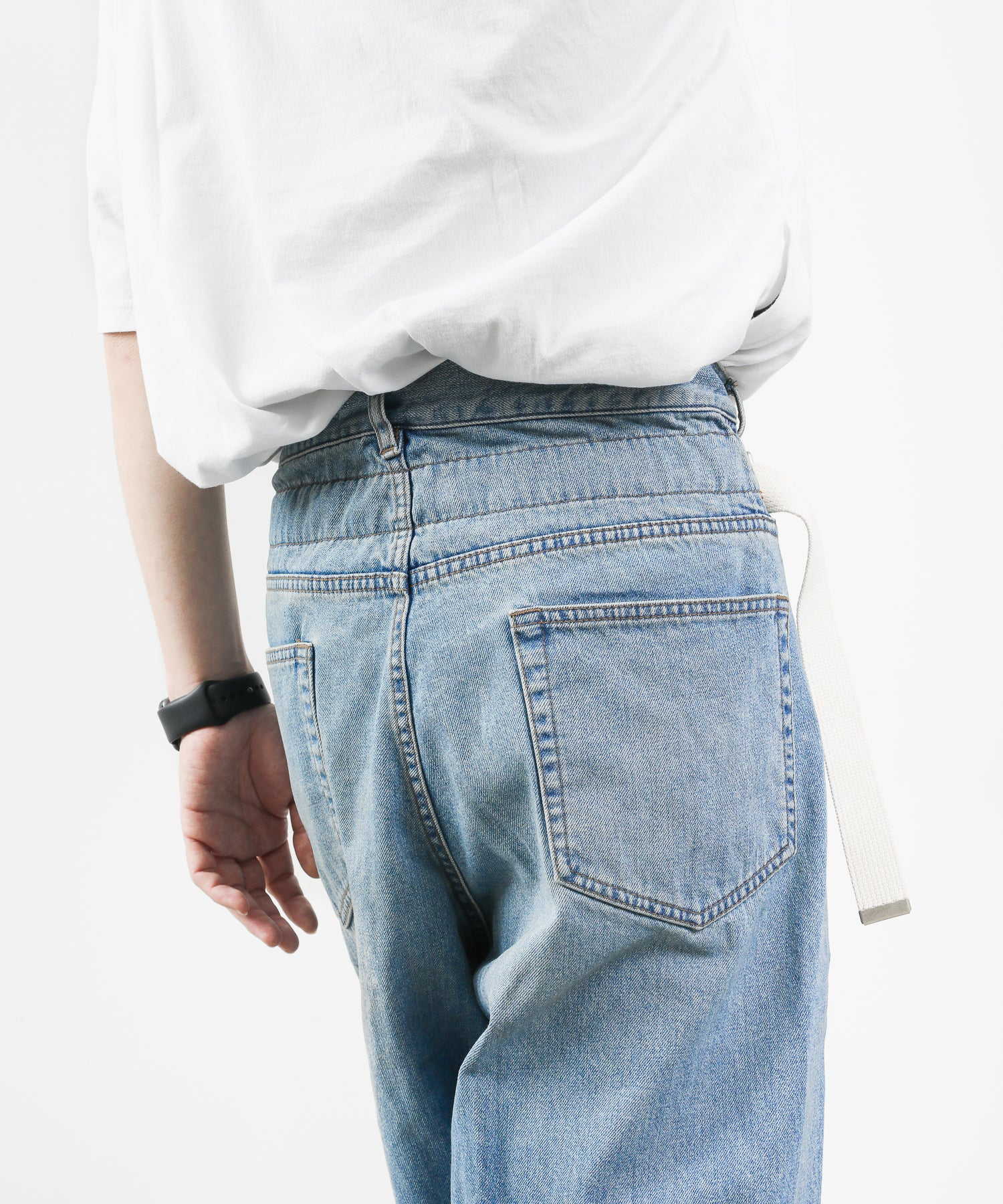 【KAZUYUKI KUMAGAI】11.5OZ DENIM TAPERED ASYMMETRIC