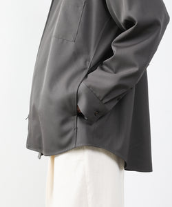 【stein】OVERSIZED ZIP SHIRTS JACKET