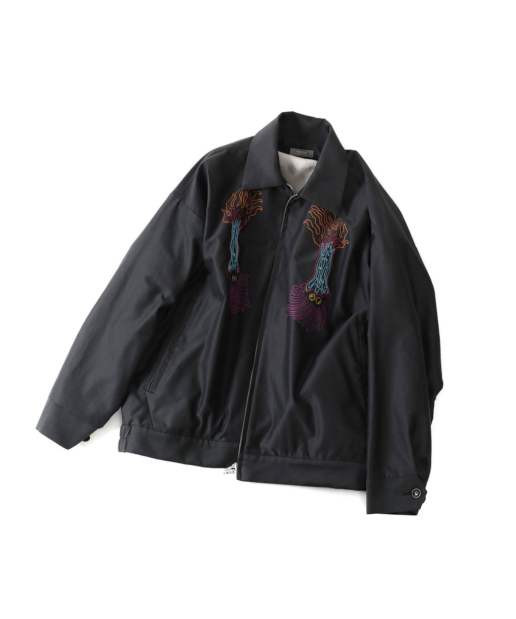 PSEUDOS EMBROIDERED SOUVENIR JACKET session 通販