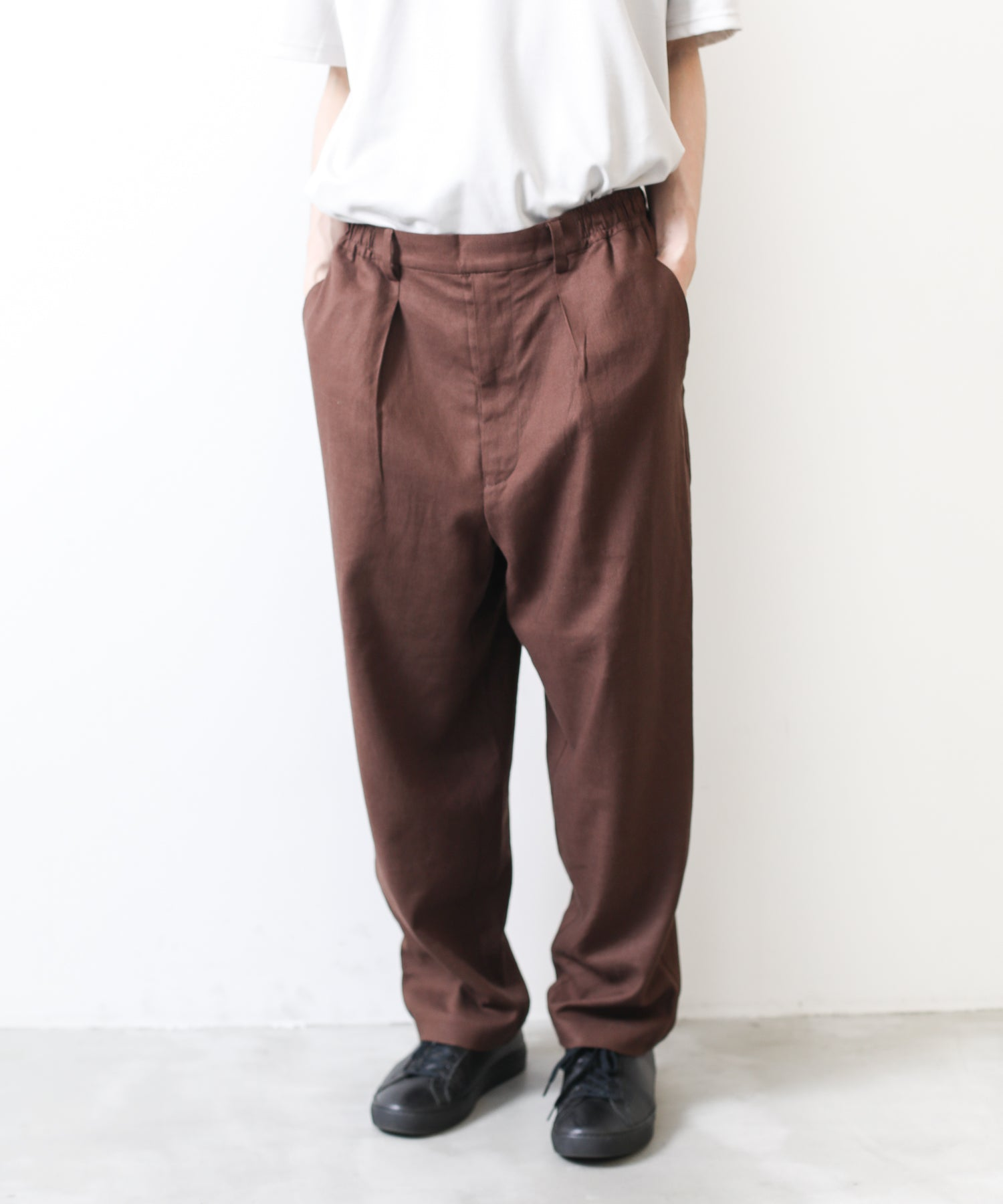 【wonderland】Tailored slacks pants