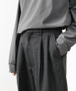 【stein】EX WIDE TAPERED TROUSERS