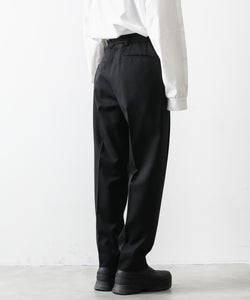 【stein】WIDE TAPERED TROUSERS