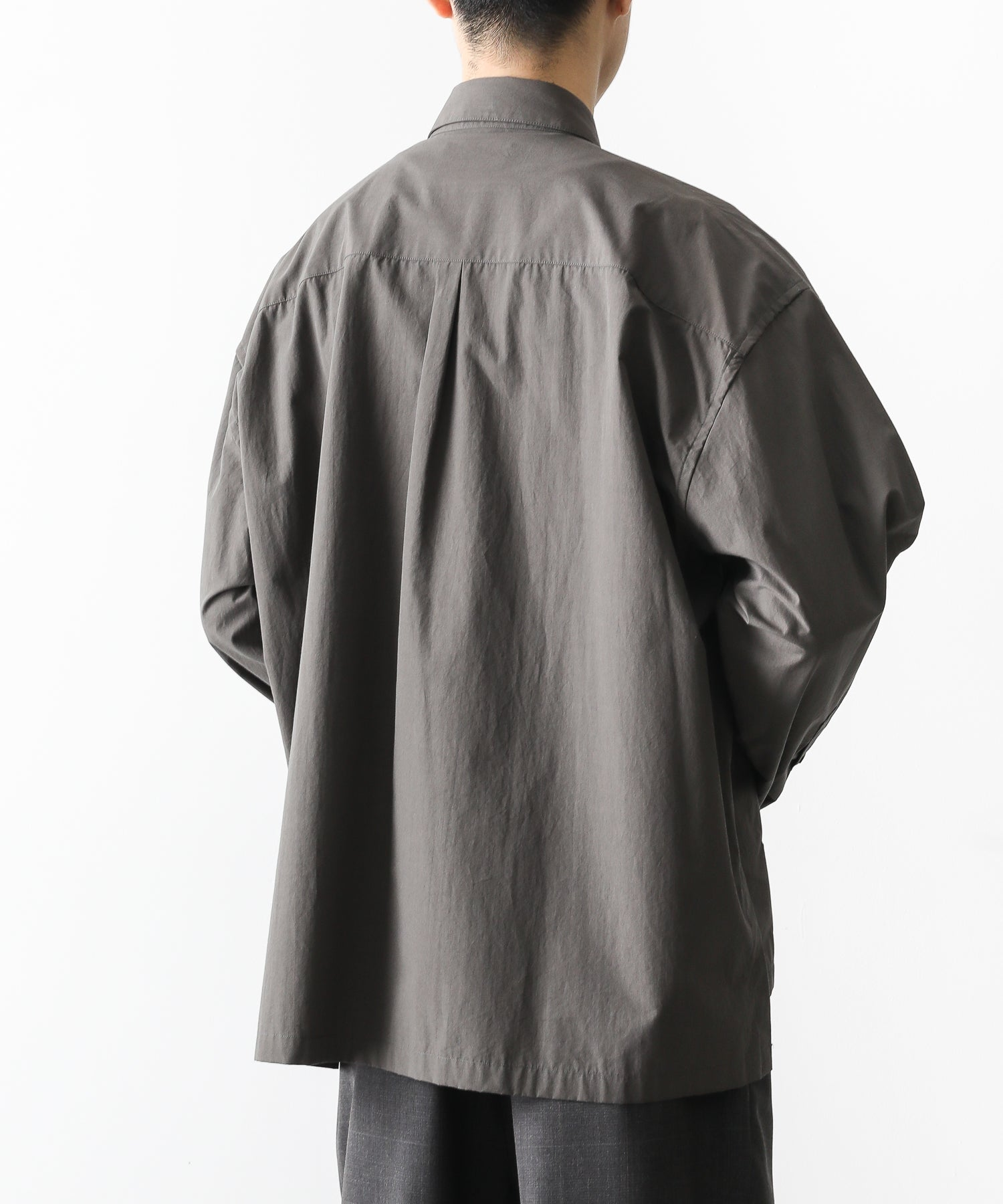 【stein】OVER SLEEVE COMBINE SHIRTS JACKET
