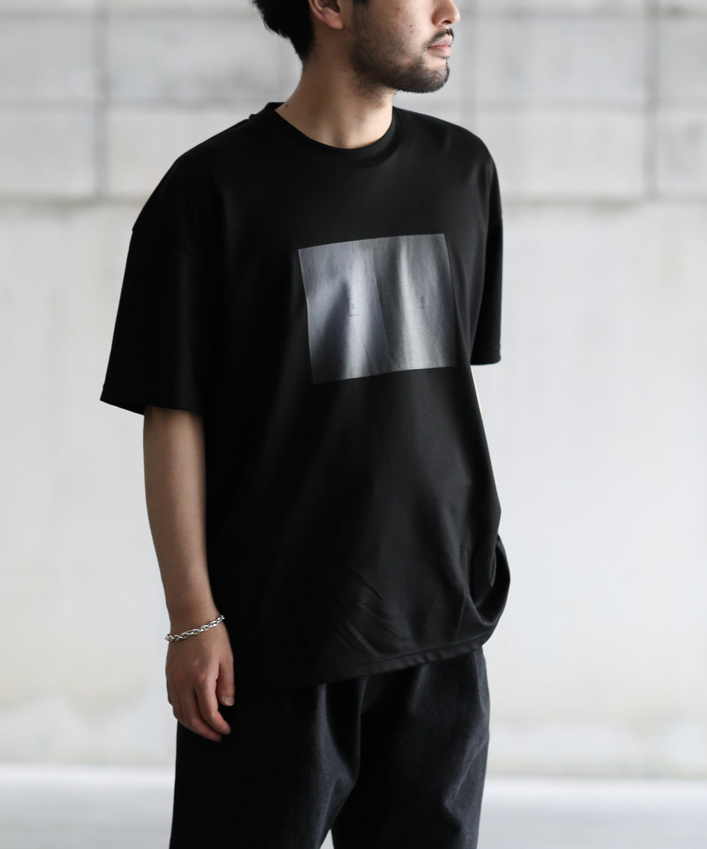 【stein】PRINT TEE - RECONSIDER -stein シュタイン PRINT TEE - RECONSIDER - BLACK ST.259 session