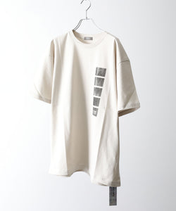 PSEUDOS PRINT PAPER T-SHIRT SS / BAY WARM GRAY session 通販