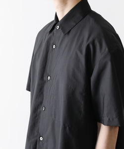 stein シュタイン OVERSIZED FOLDED SS SHIRTS BLACK st.251 session 通販