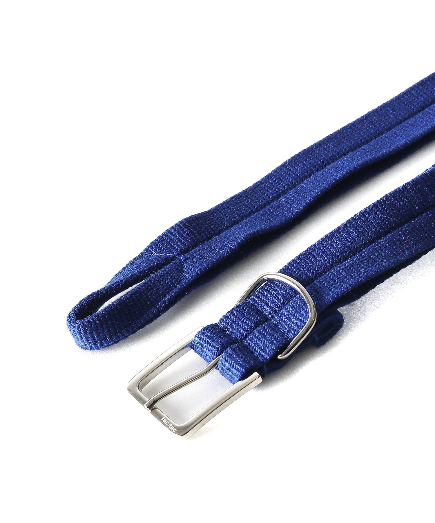 tac:tac タクタク HOLELESS BELT BLUE 公式通販 session