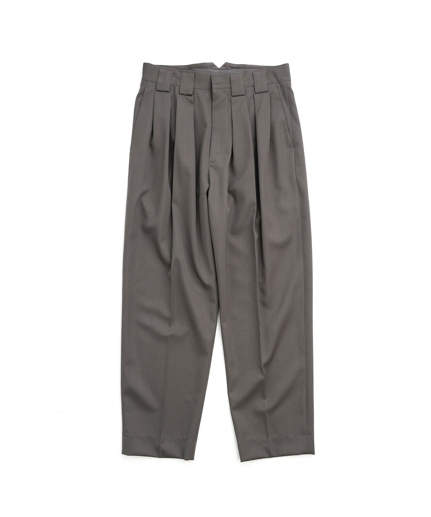 【stein】DOUBLE WIDE TROUSERS