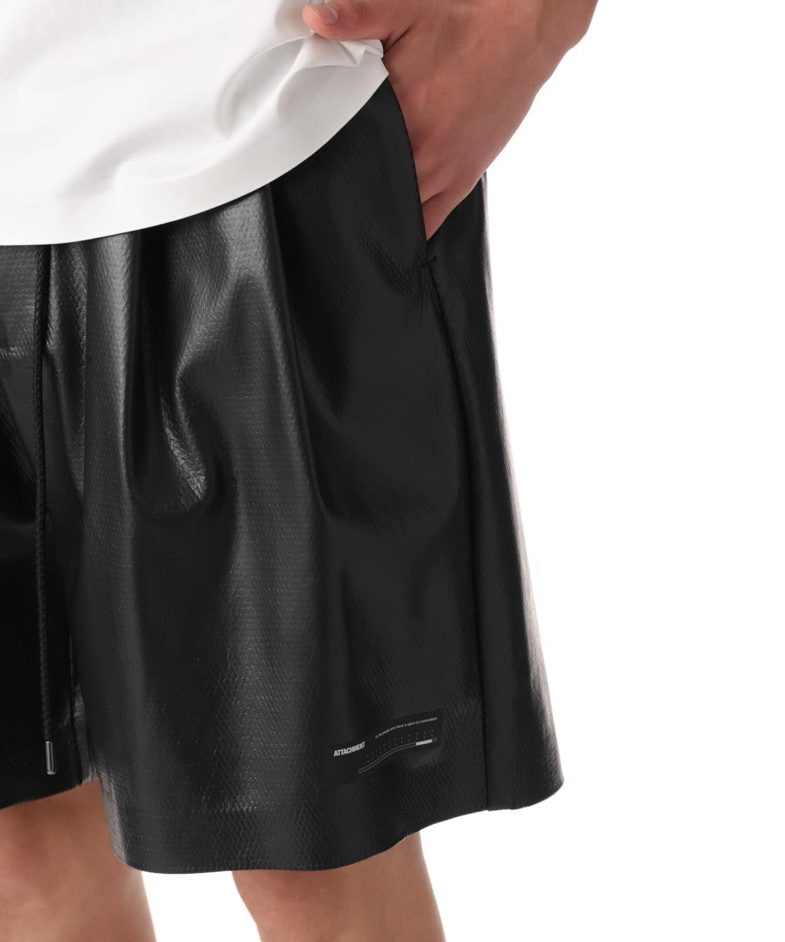【ATTACHMENT】FILM BONDED MESH EASY SHORTS