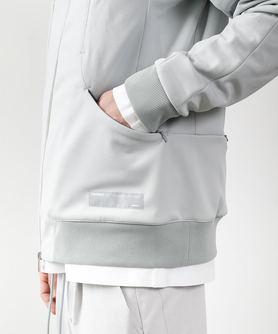 【ATTACHMENT】PE JERSEY TECHNICAL TRACK JACKET