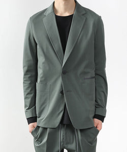 【ATTACHMENT】HIGH GAUGE JERSEY TECHNICAL BLAZER