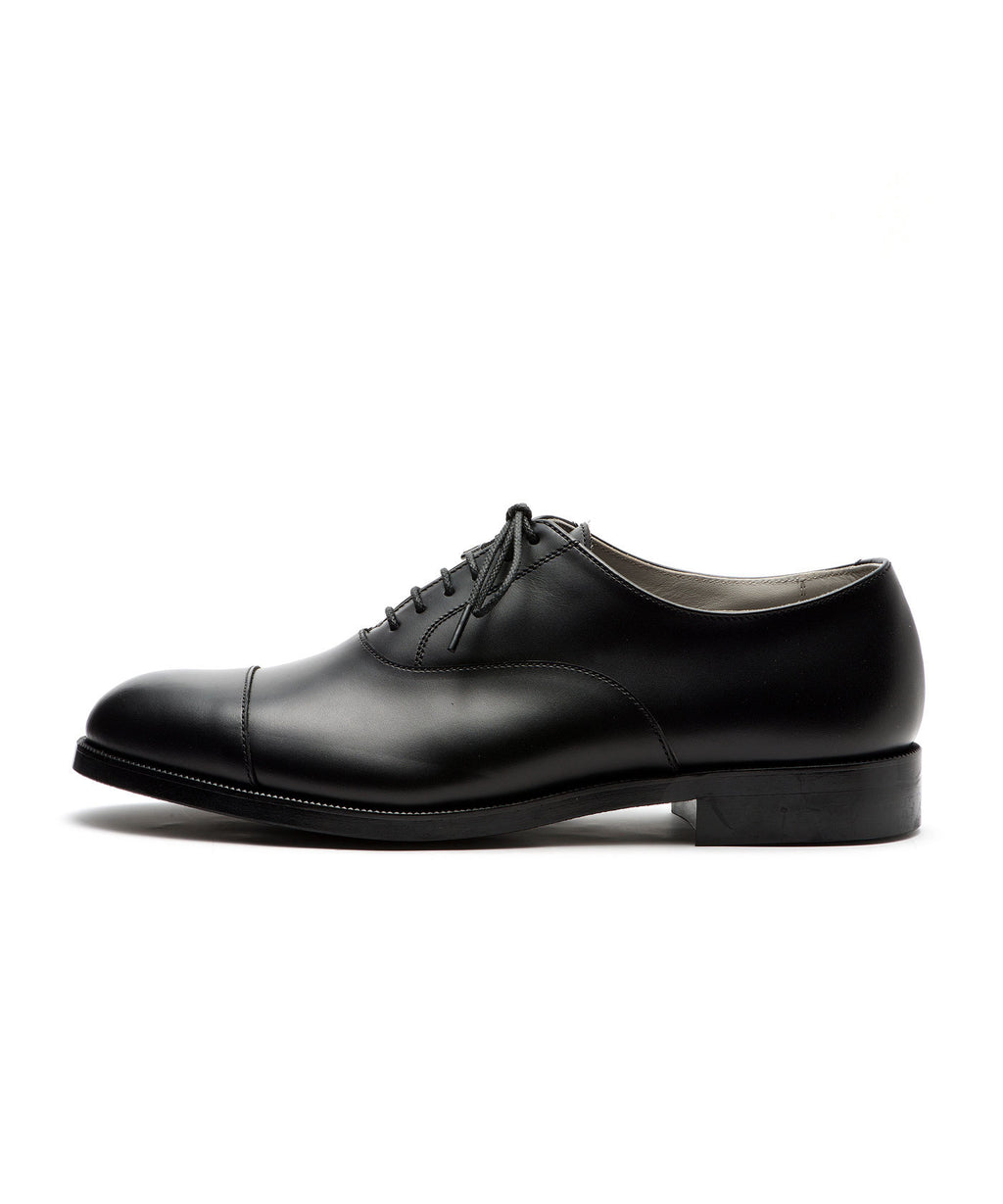 FOOTSTOCK フットストック STRAIGHT TIP SHOES BLACK 公式通販 session