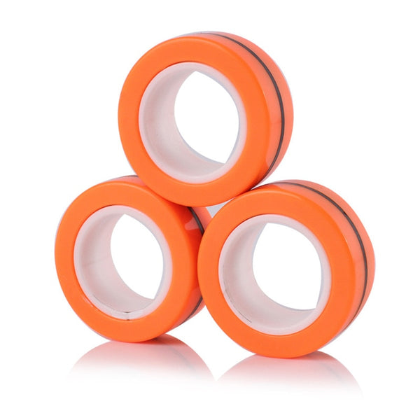 Anti-Stress Magnetic Magic Rings(3pcs)