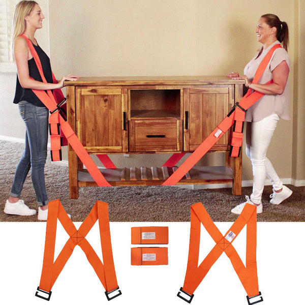 Non-Slip Shoulder Harness Furniture Moving Straps