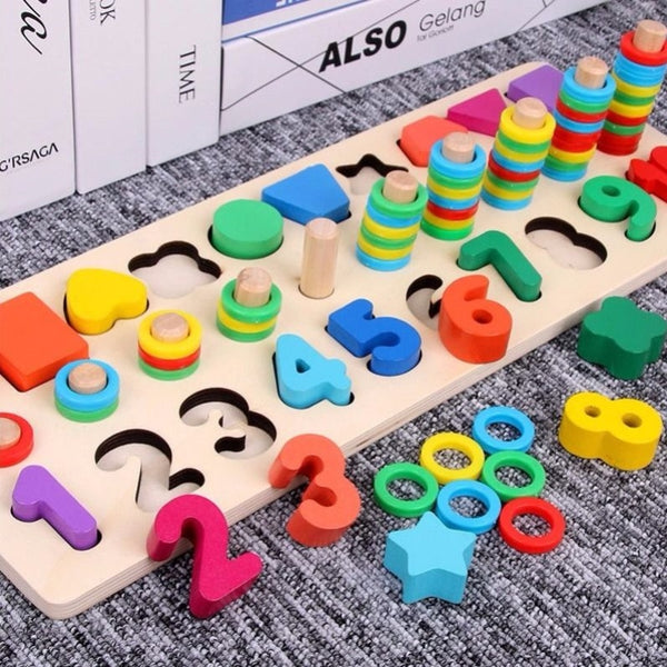 Wooden Montessori Educational Toys for kids Early Learning