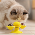 Rotating Windmill Cat Toy For Chewing, Swatting & Rubbing