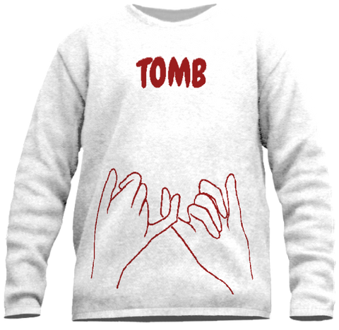 Tomb Sweater (Blood Red)