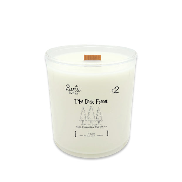 Rustic Ember | The Dark Forest | 10 Ounce Candle 1