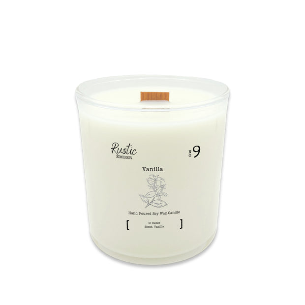 Rustic Ember | Vanilla | 10 Ounce Candle 1