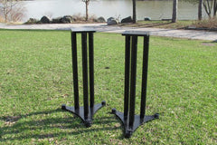 Charisma Audio Cabriolet (Height & Width Adjustable) Speaker Stands