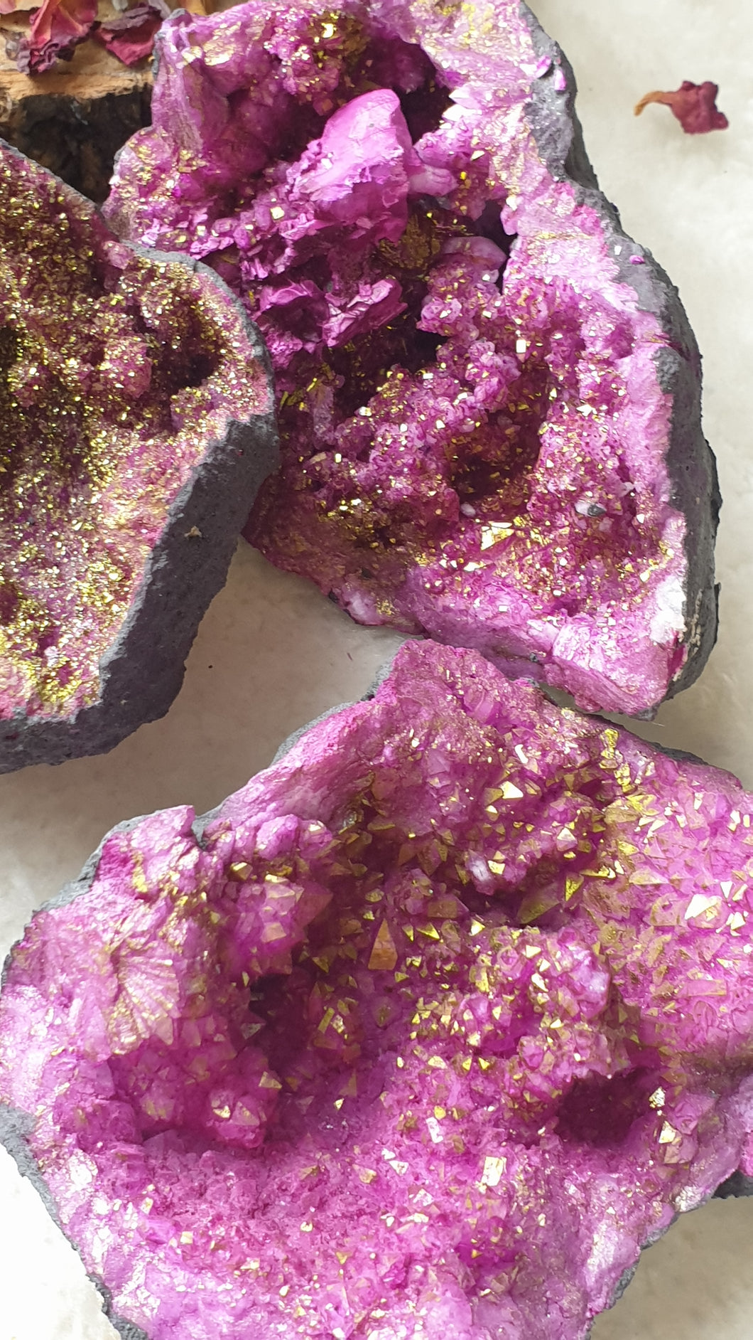 Purple Quartz Geode