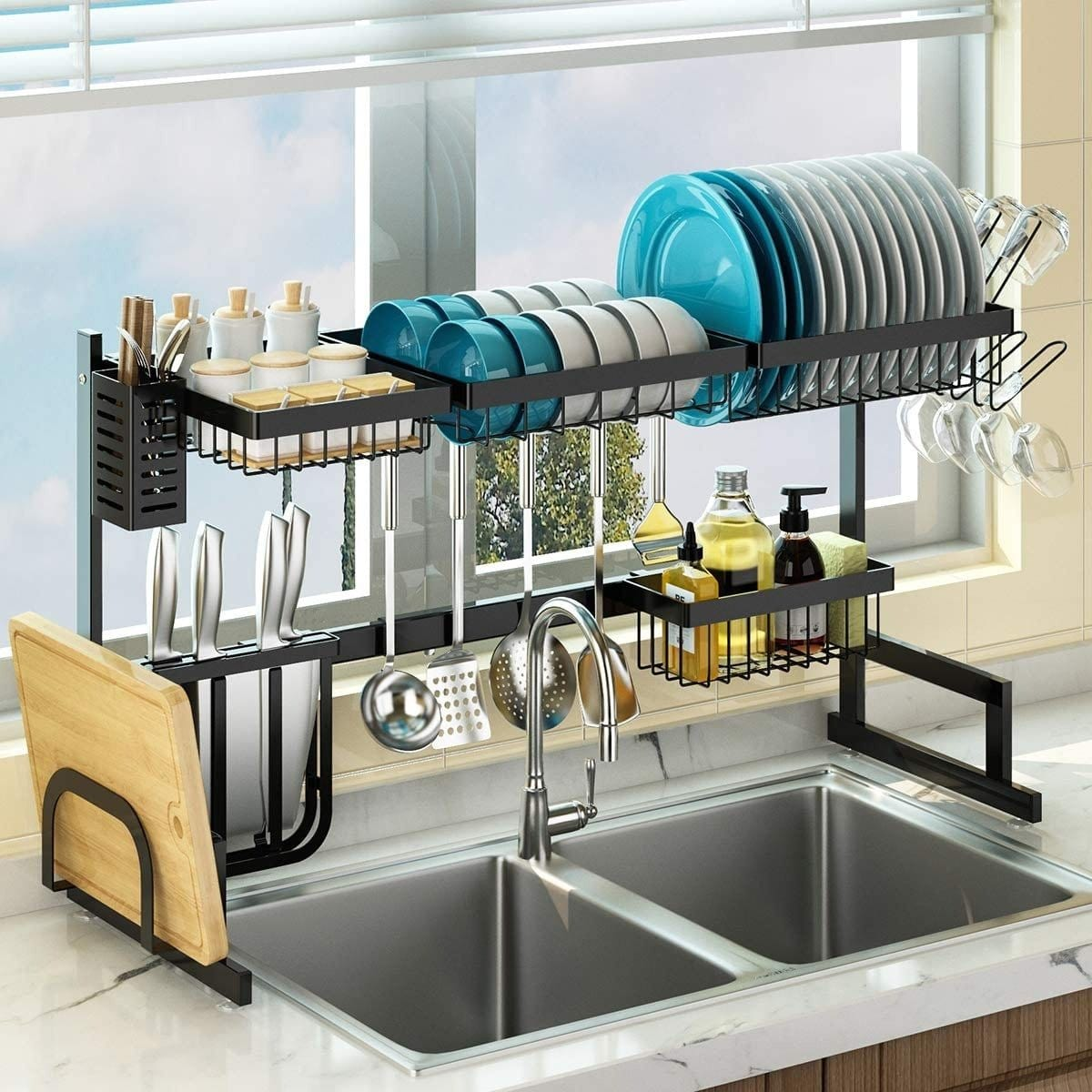 Skepre™ Over The Sink 1-in-9 Organizer