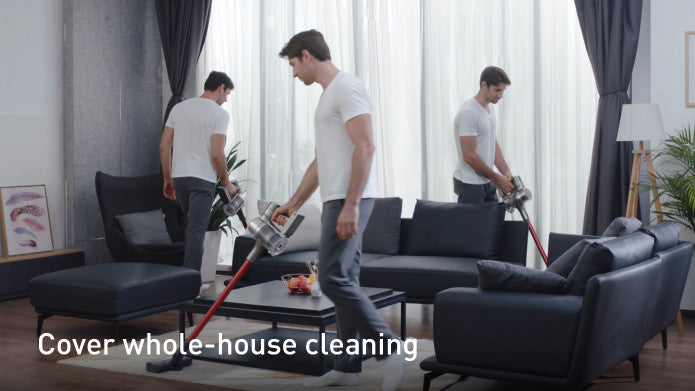 Cover whole-house cleaning